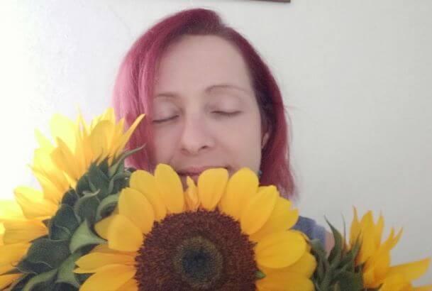 Doris Wansch, Sonnenblume, Lebensfreude Praxis, den Toten gedenken, Guatemala