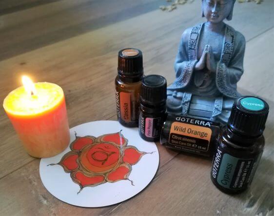 Sexualchakra, ätherische Öle, Lebensfreude Praxis Chakra