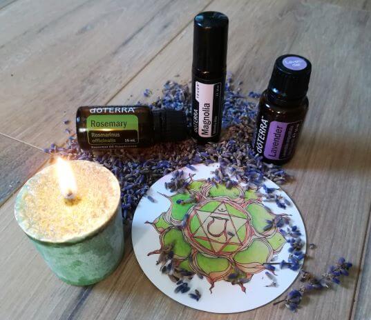 Herzchakra ätherische Öle, Lebensfreude Praxis Chakra
