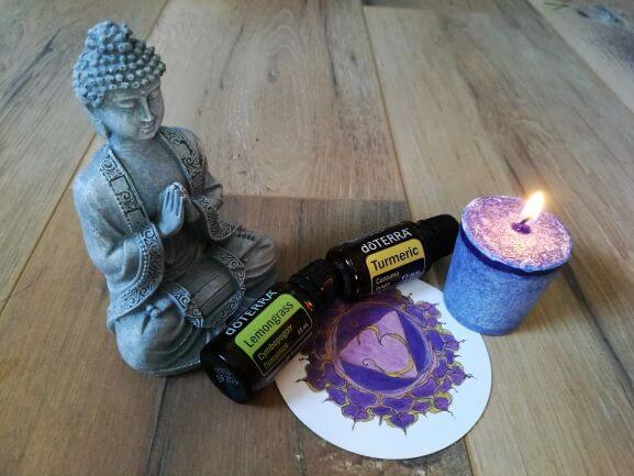 Drittes Auge ätherische Öle, Lebensfreude Praxis Chakra