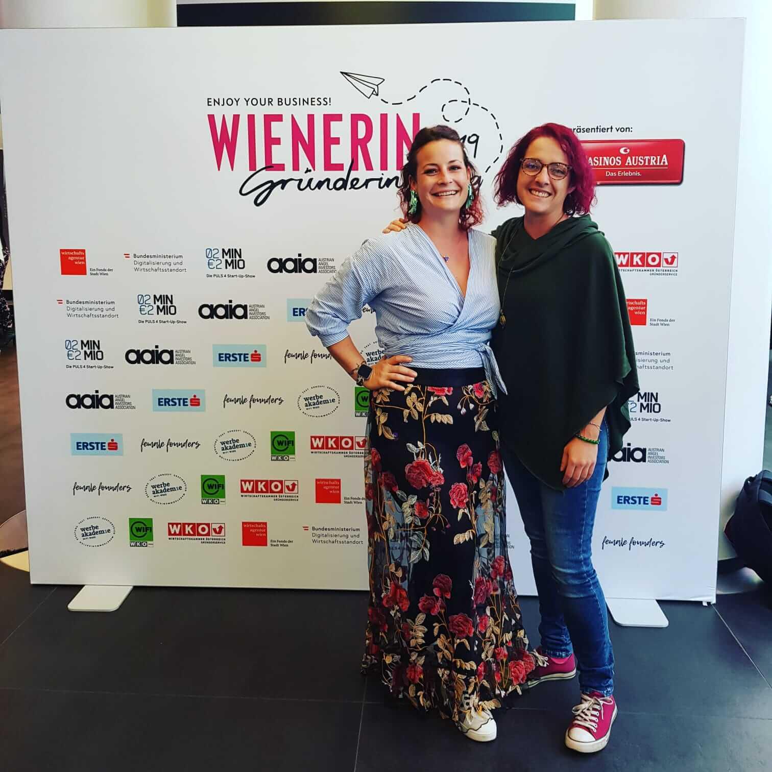gemeinsam statt einsam, Netzwerk, Karina Streng, Wienerin Gründerinnentag, Doris Wansch, Lebensfreude Praxis